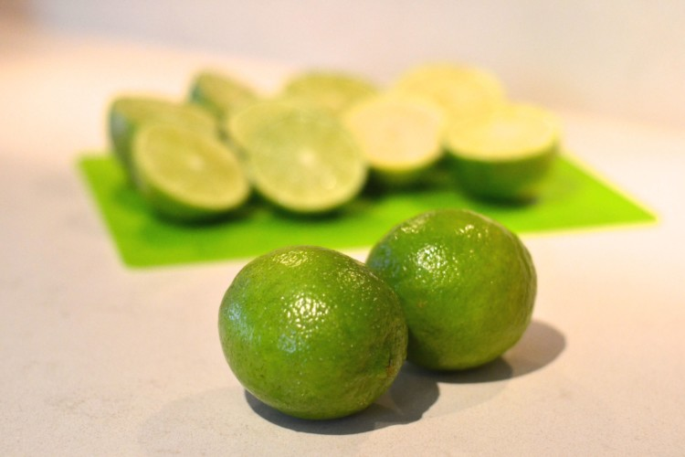limes ready for a'squeezin
