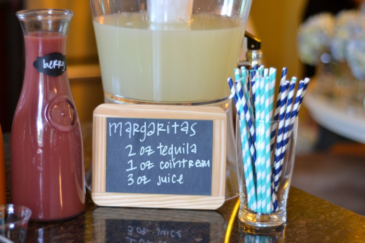 DIY margarita bar recipe