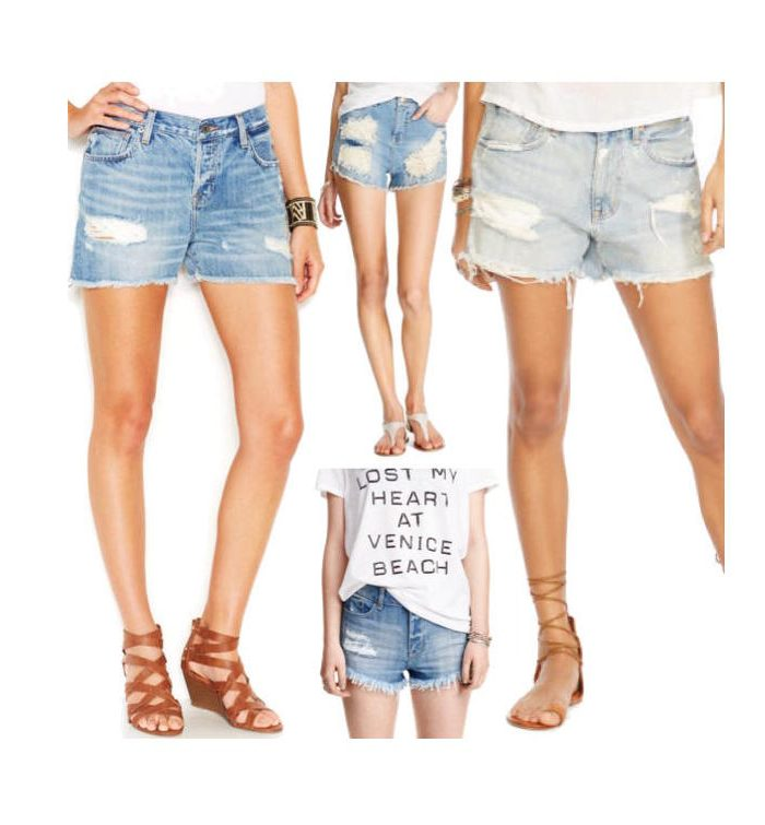 Cutoff Shorts That Aren't Crazy Short (and under $75)