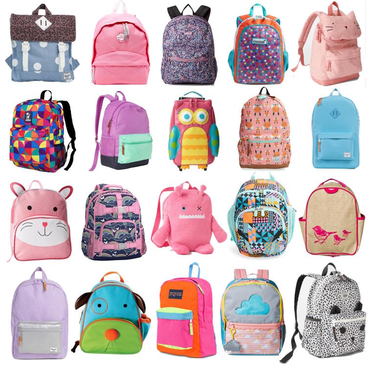 Back to School! The Cutest Toddler Girl Backpacks