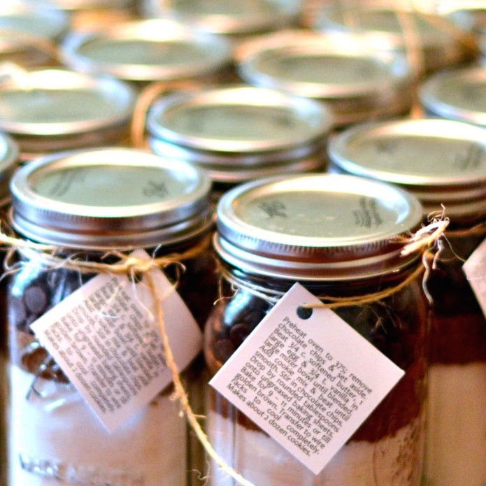 Chocolate Chip Cookie Mix Favors