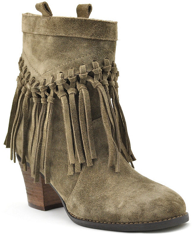 sbicca fringe boots - made in the USA