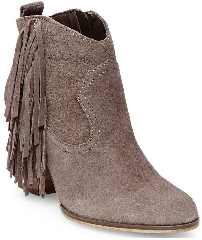 steve madden fringe suede booties - must have for fall