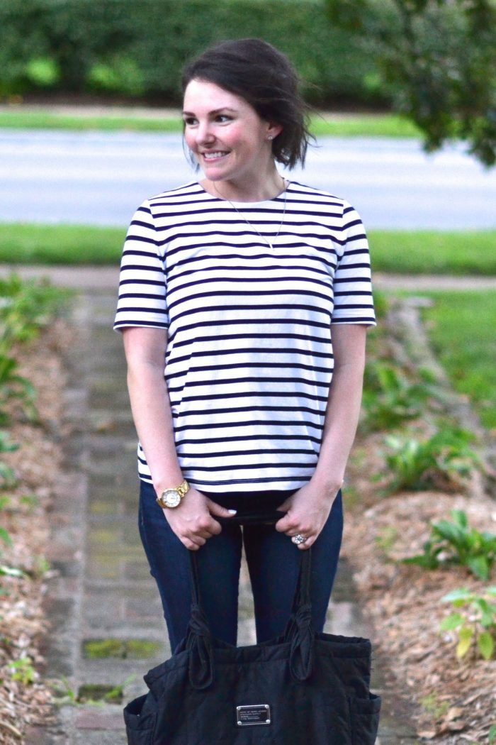 Striped Swing Top – Two Ways