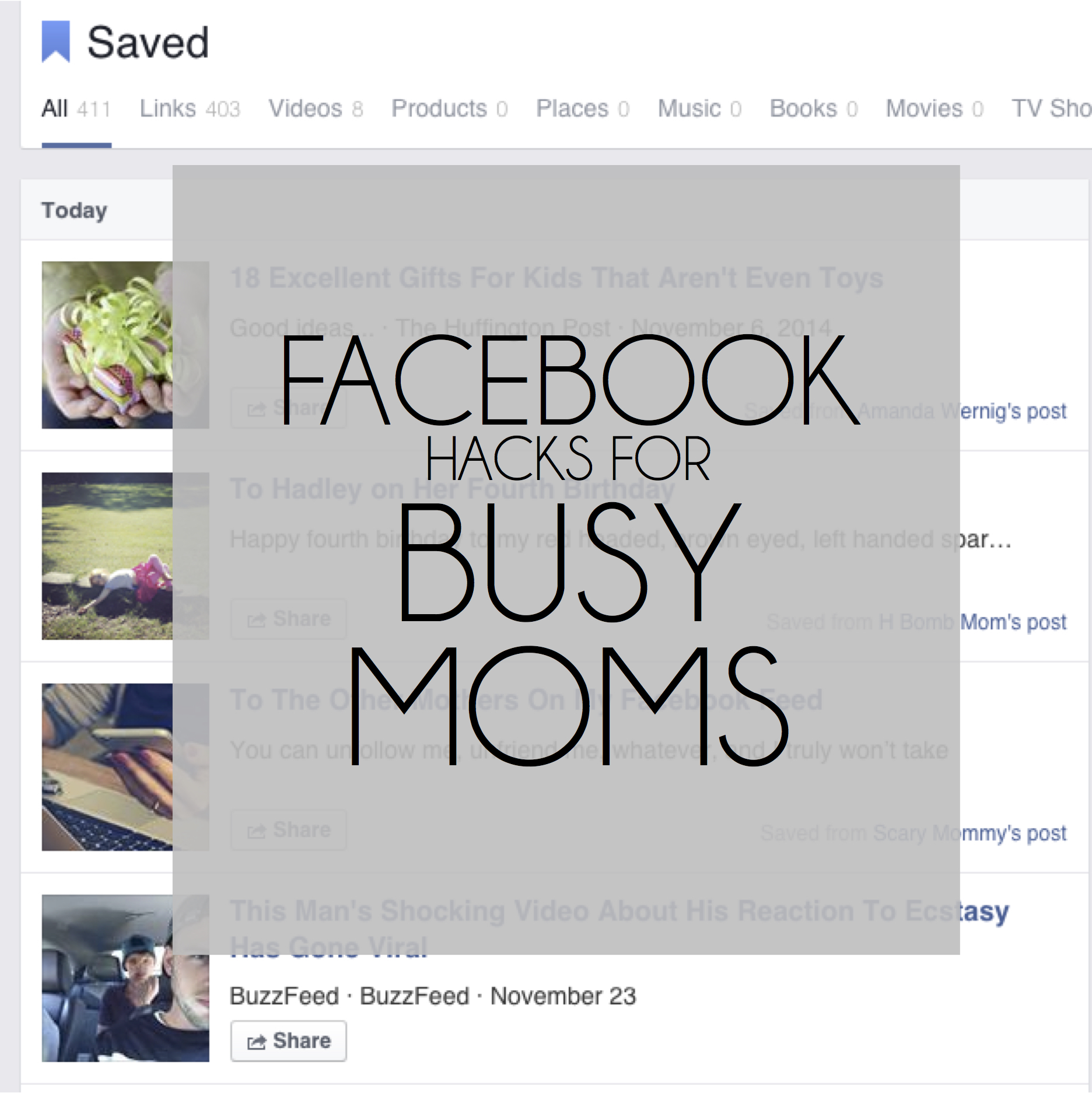 How to Save Something on Facebook
