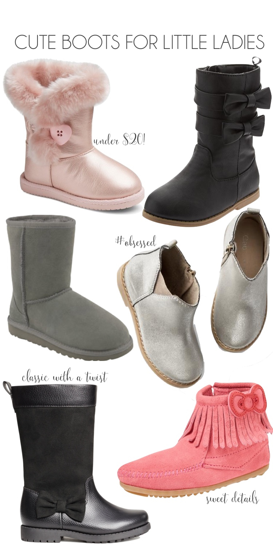 the Boots for Preschooler Girls // lovelyluckylife.com