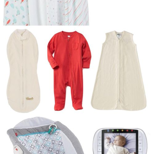 baby sleep essentials for your baby registry // lovelyluckylife.com