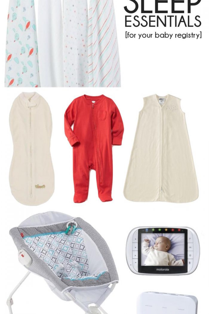 First Baby Registry Must Haves – Sleep Essentials for Baby