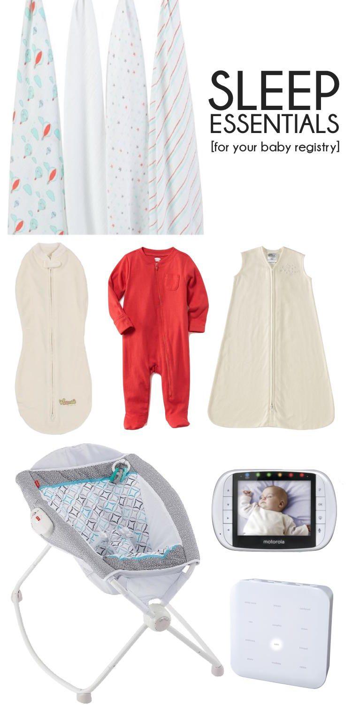 baby sleep essentials for your baby registry // lovelyluckylife.com
