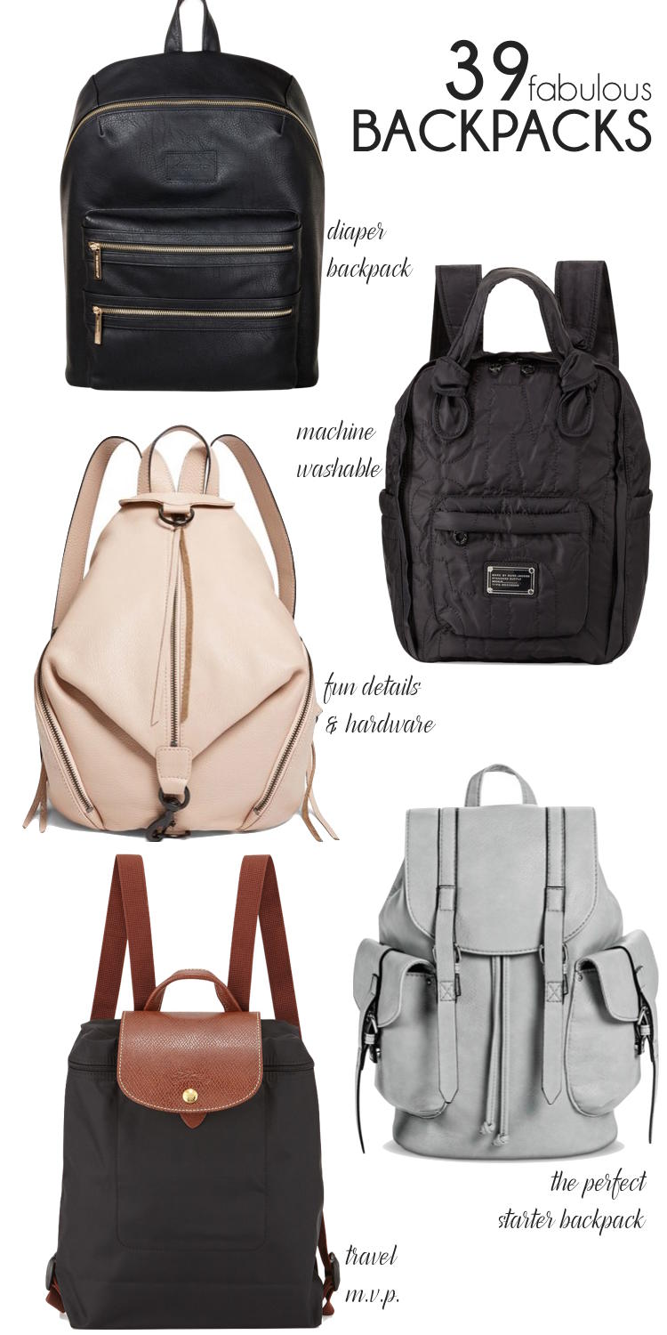 Before this year I was anti-backpack but as a mom, they come in handy! Be sure to check out these 39 Cute Backpacks for Moms!