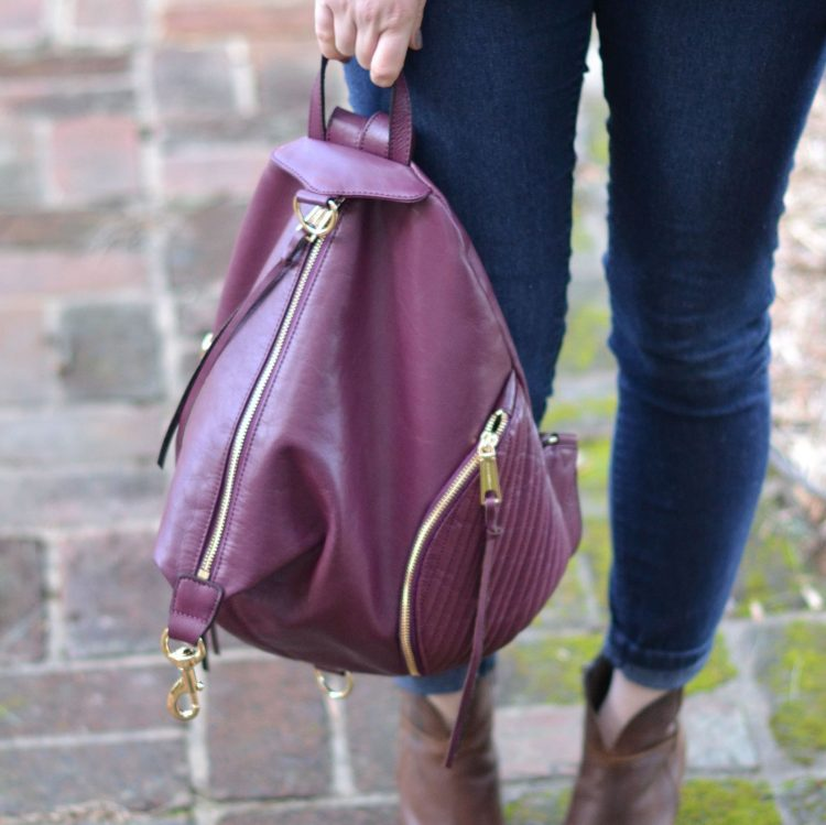 this rebecca minkoff backpack // 46 Cute Backpacks for Moms by lovelyluckylife.com