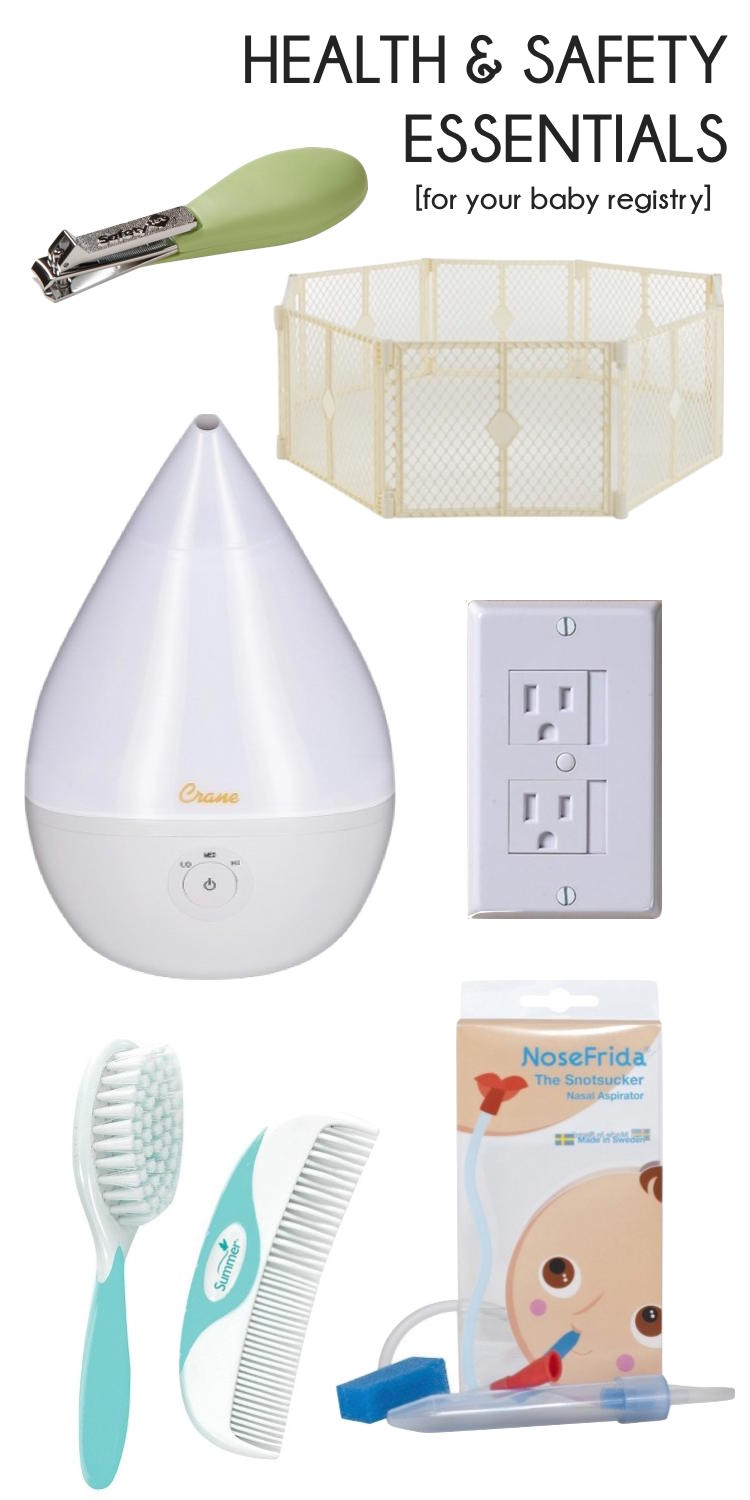 baby registry essentials - health & safety stuff you need to have for a new baby from a mom of two // lovelyluckylife.com