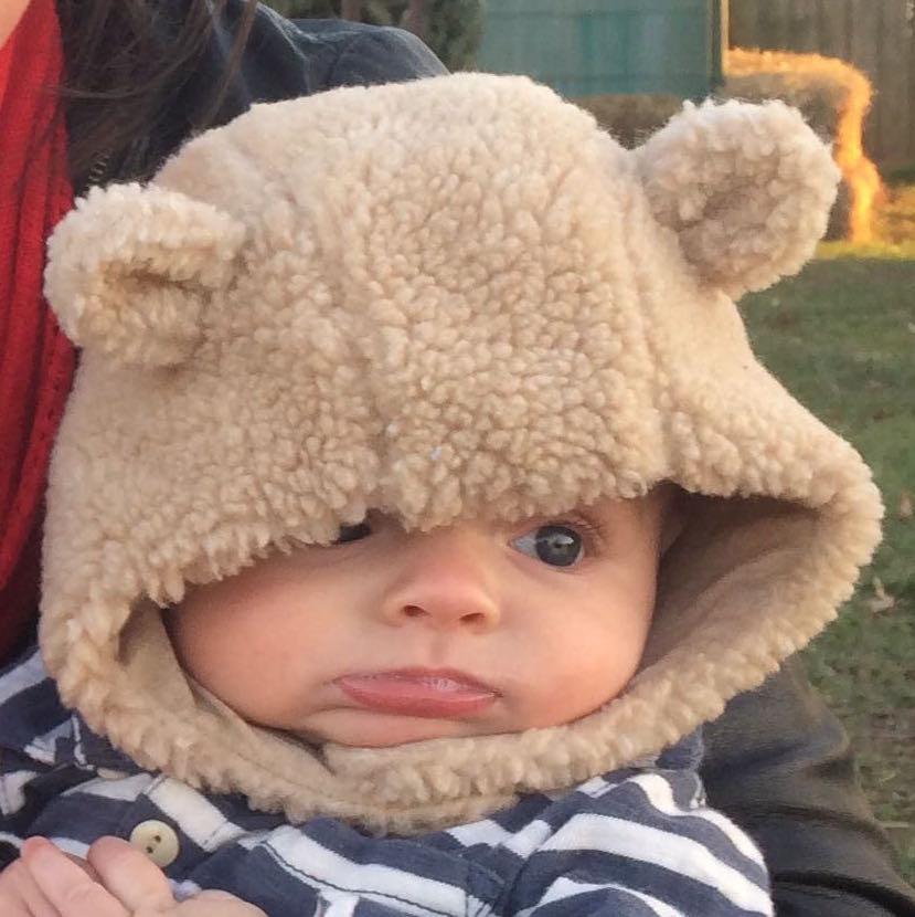 cute hat little bear hat