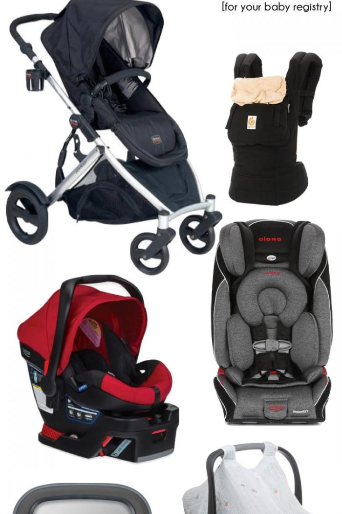 Baby Registry Must Haves – Baby Transportation Essentials