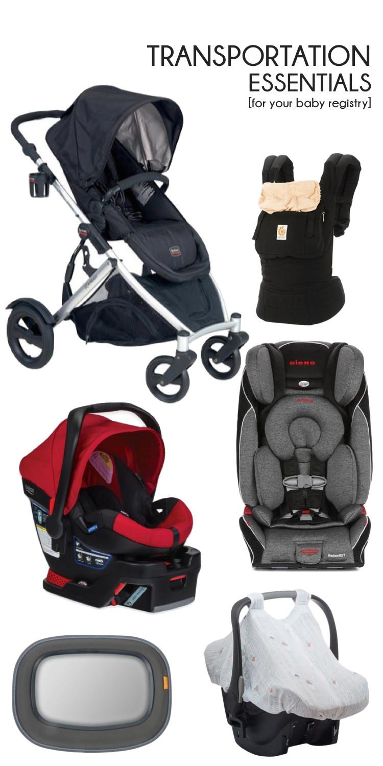 baby transportation essentials for your baby registry // lovelyluckylife.com