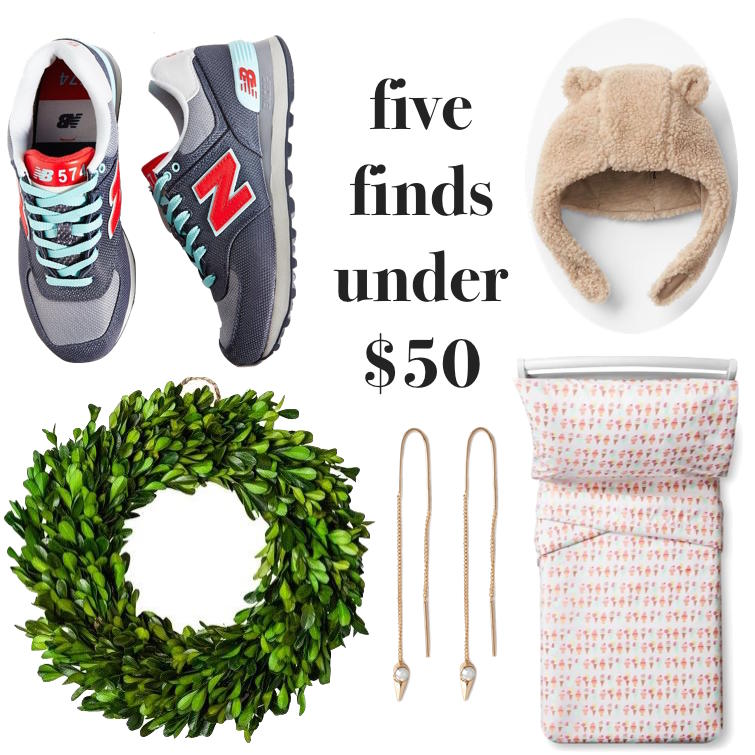five finds under $50 // lovelyluckylife.com