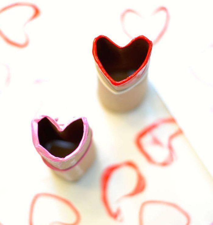 Super Easy Valentine's Day Craft for Preschoolers
