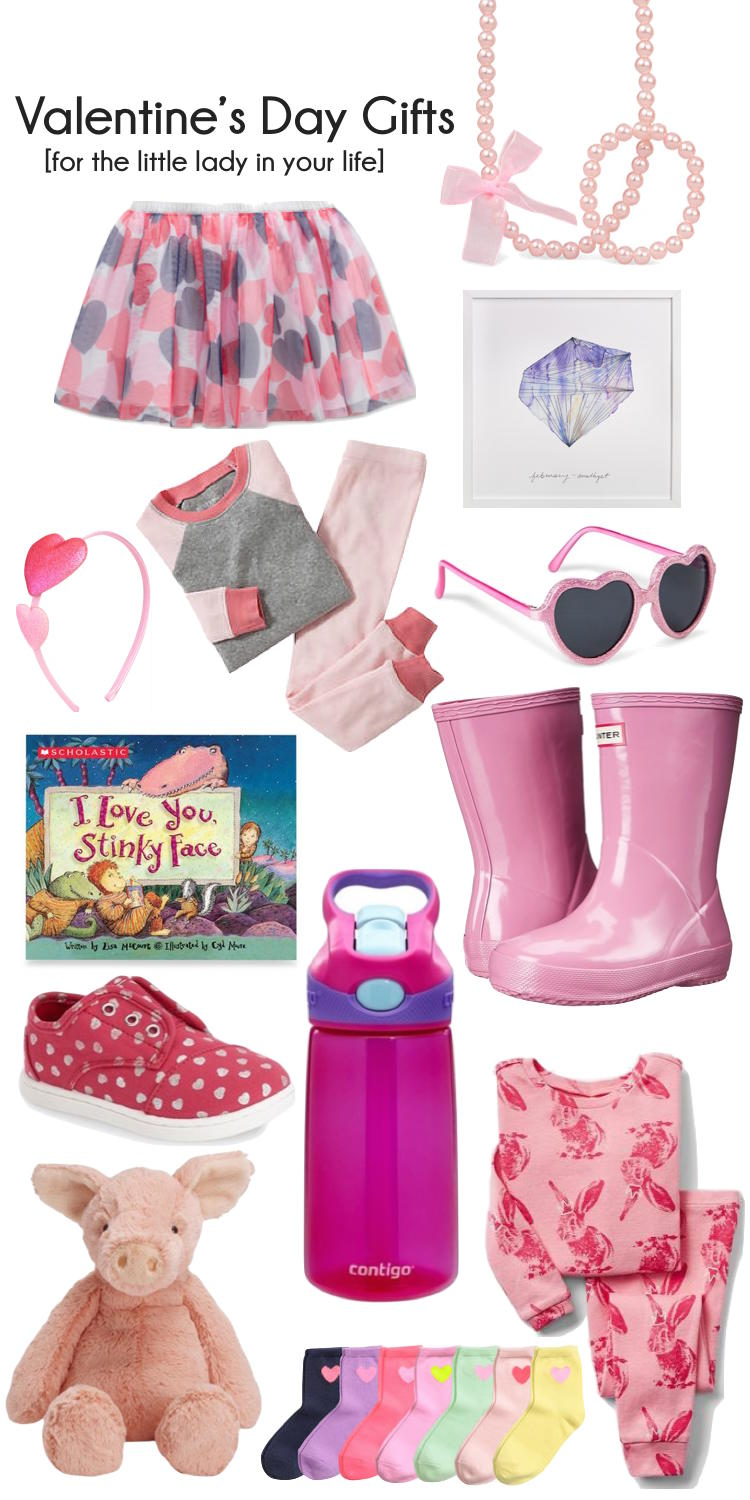 Valentine 39 s day gifts for little girls lovely lucky life for Best gift for valentine day for girlfriend