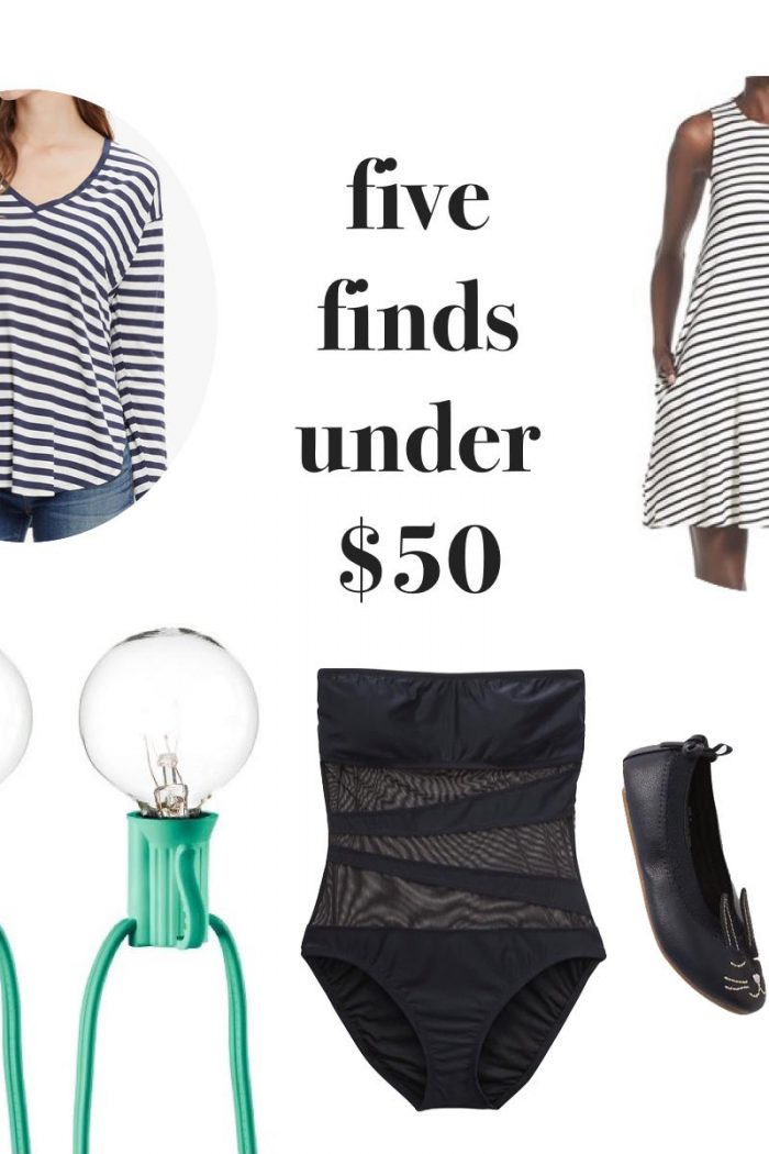 Five Friday Finds Under $50