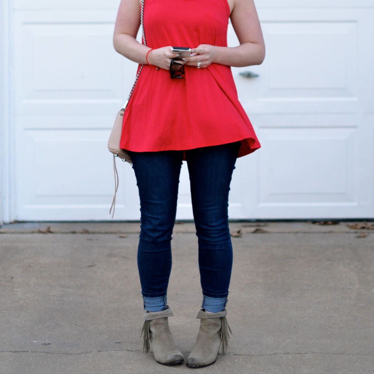Swingy Red Tank Top + A GIVEAWAY