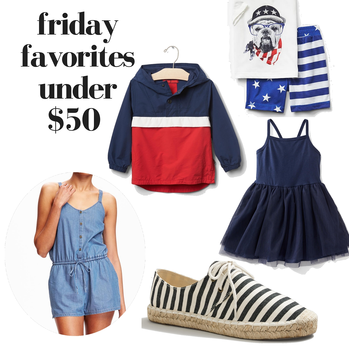 these are the cutest red, white, & blue finds for memorial day + everything is under $50! #fridayfinds // lovelyluckylife.com