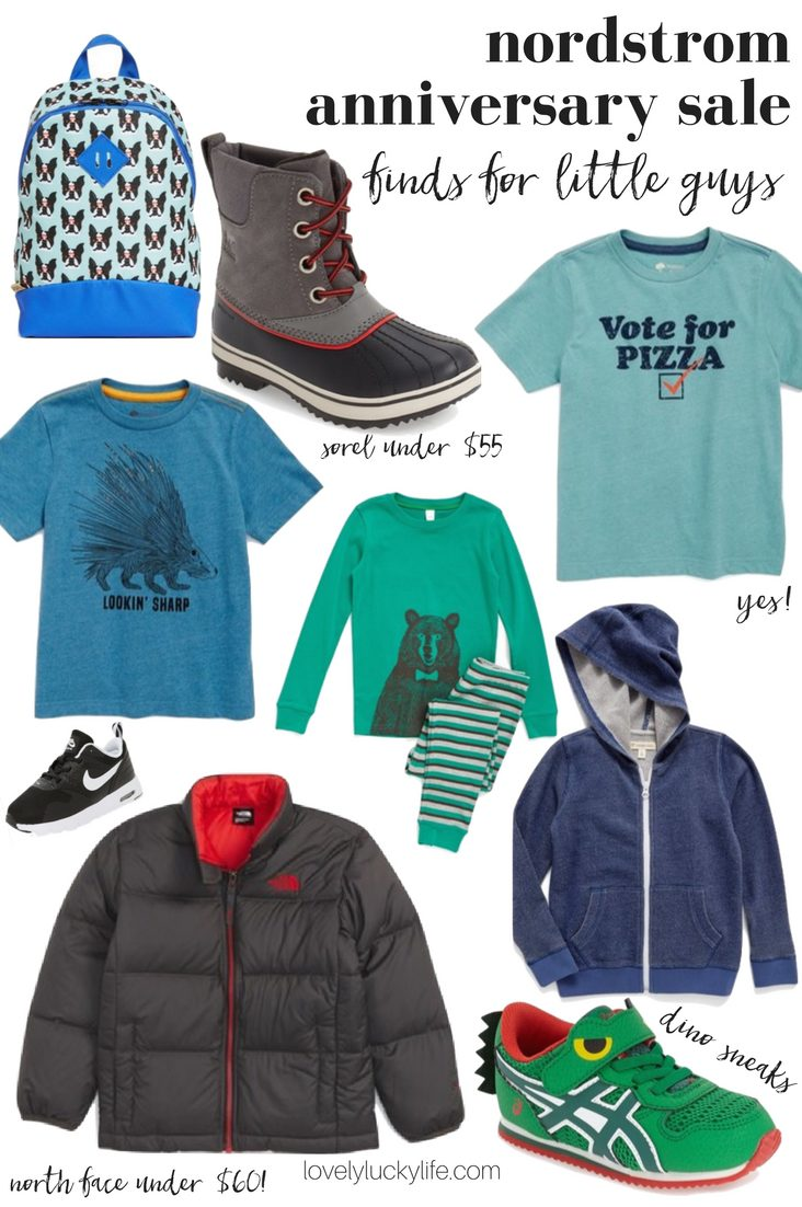 Nordstrom anniversary sale finds for kids - these are the cutest #NSALE picks for little boys // lovelyluckylife.com