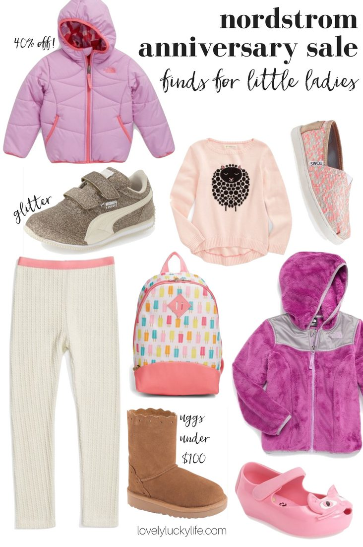 Nordstrom anniversary sale finds for kids - these are the cutest #NSALE picks for little ladies // lovelyluckylife.com