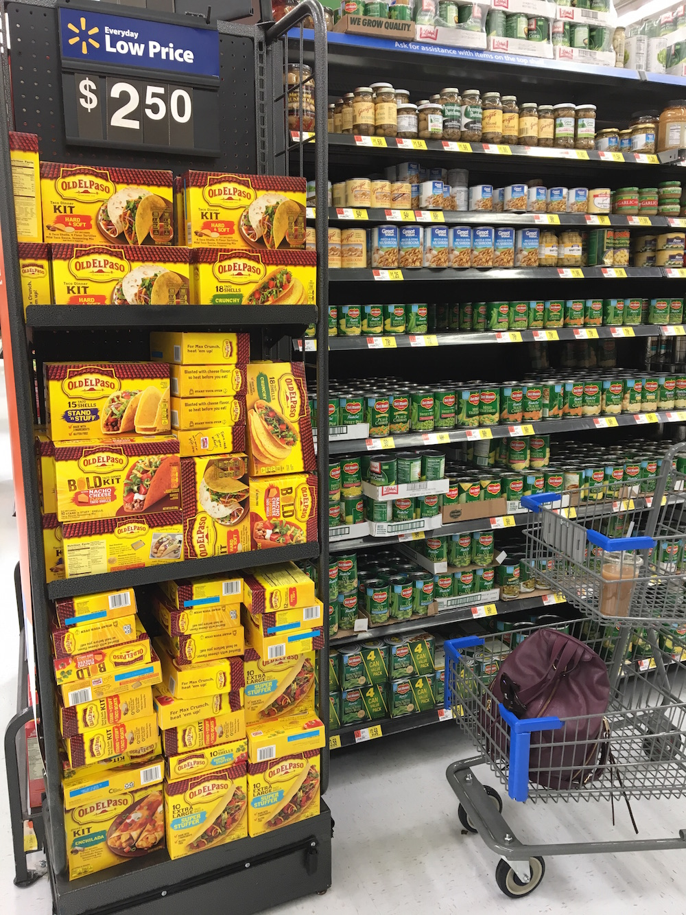 so many Old El Paso options at Walmart