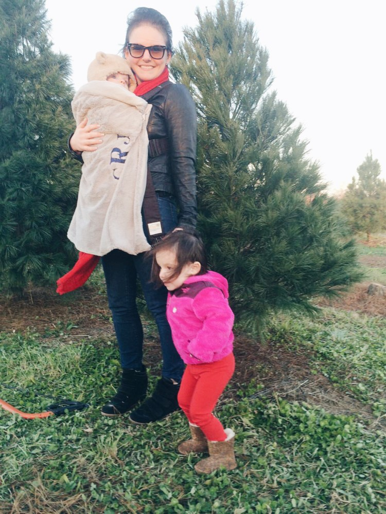 Christmas tree cutting - a favorite tradition!