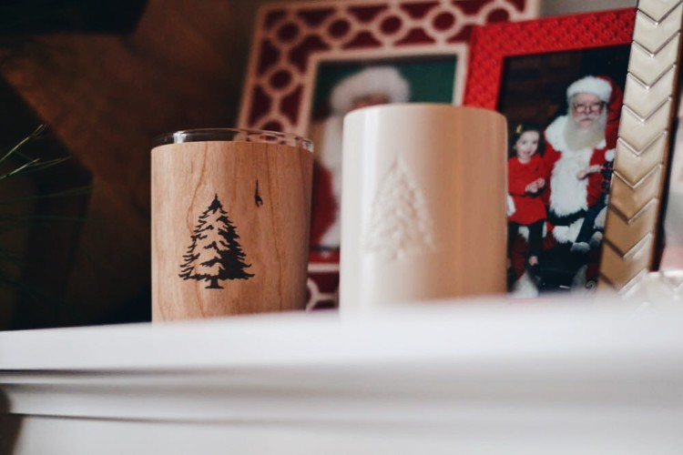 the cutest Christmas candles ever!