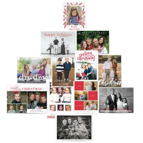 this is how you make sending Christmas cards super duper simple