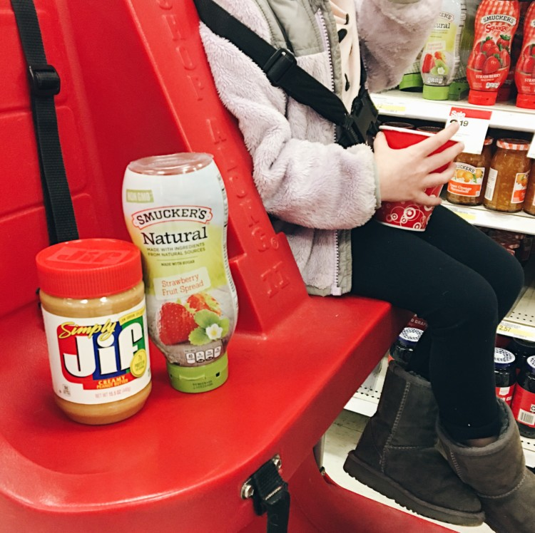 the trifecta: Target, JIF & Smucker's