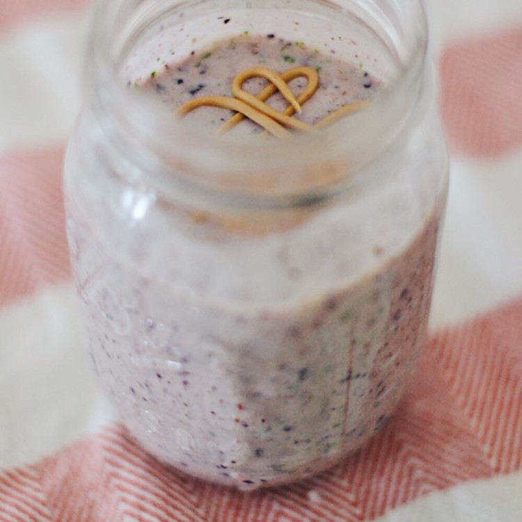 Easy PB&J Smoothie