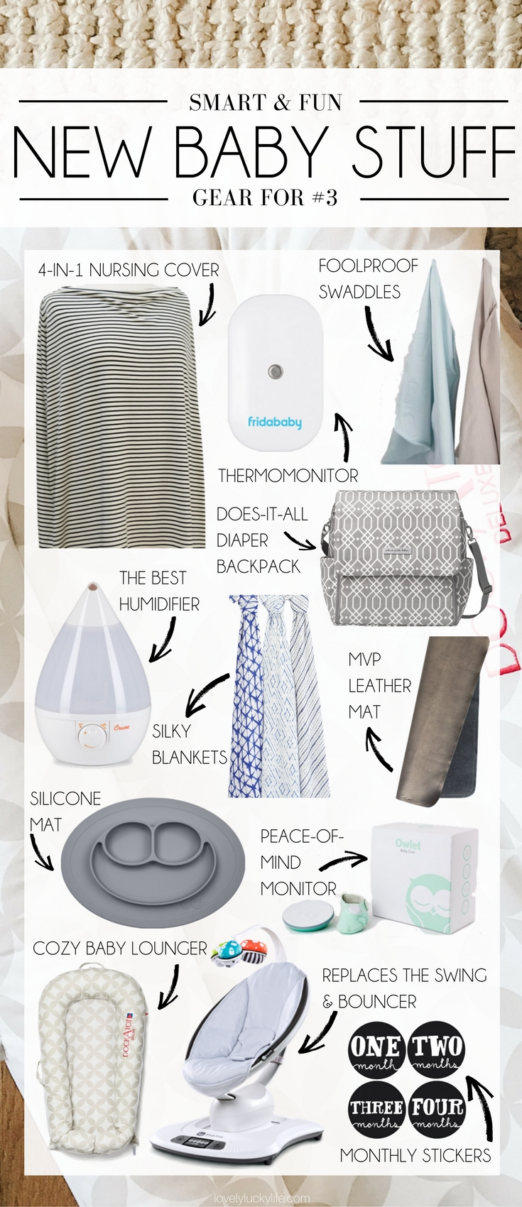 3rd baby wish list - new baby gear that wasn't around for my first baby almost 5 years ago. this is the coolest new baby gear any mom would love