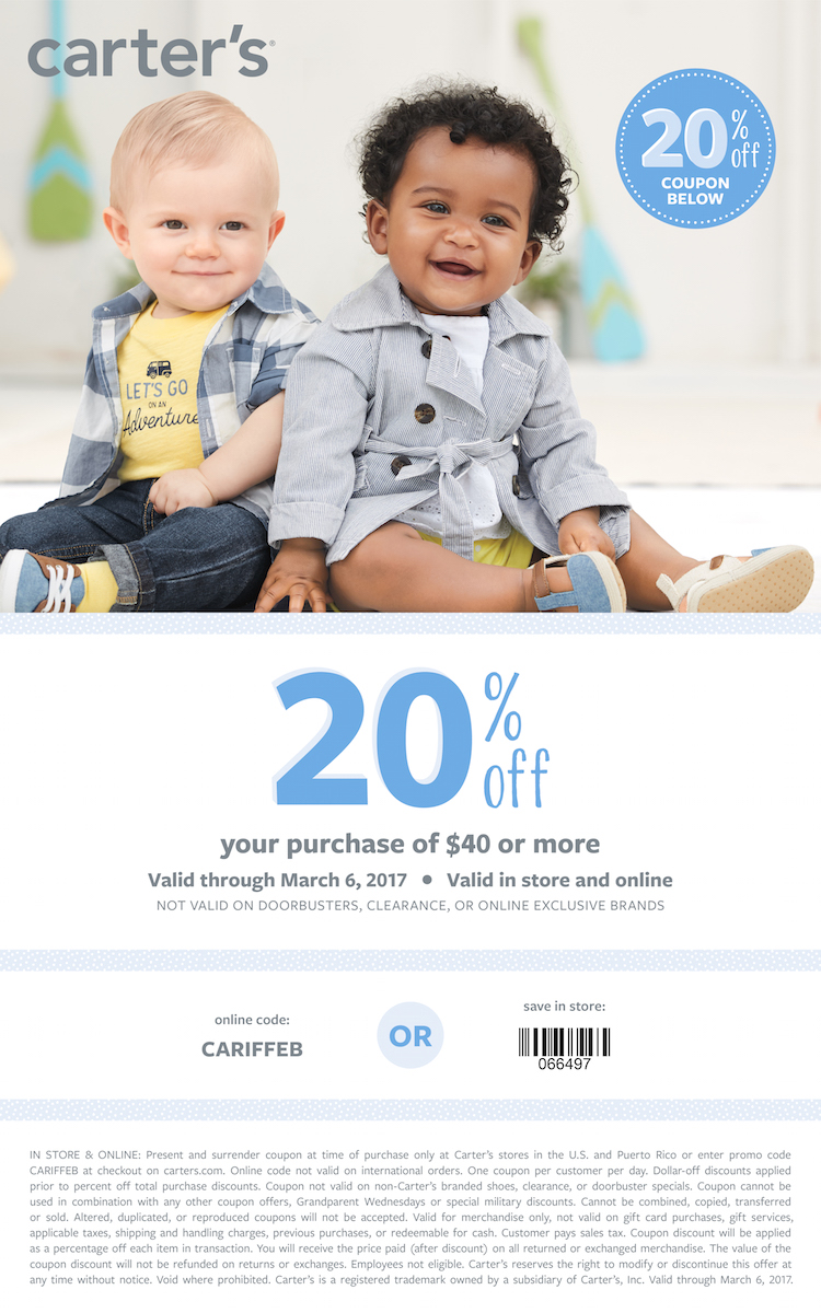 Carter's spring collection - super cute!