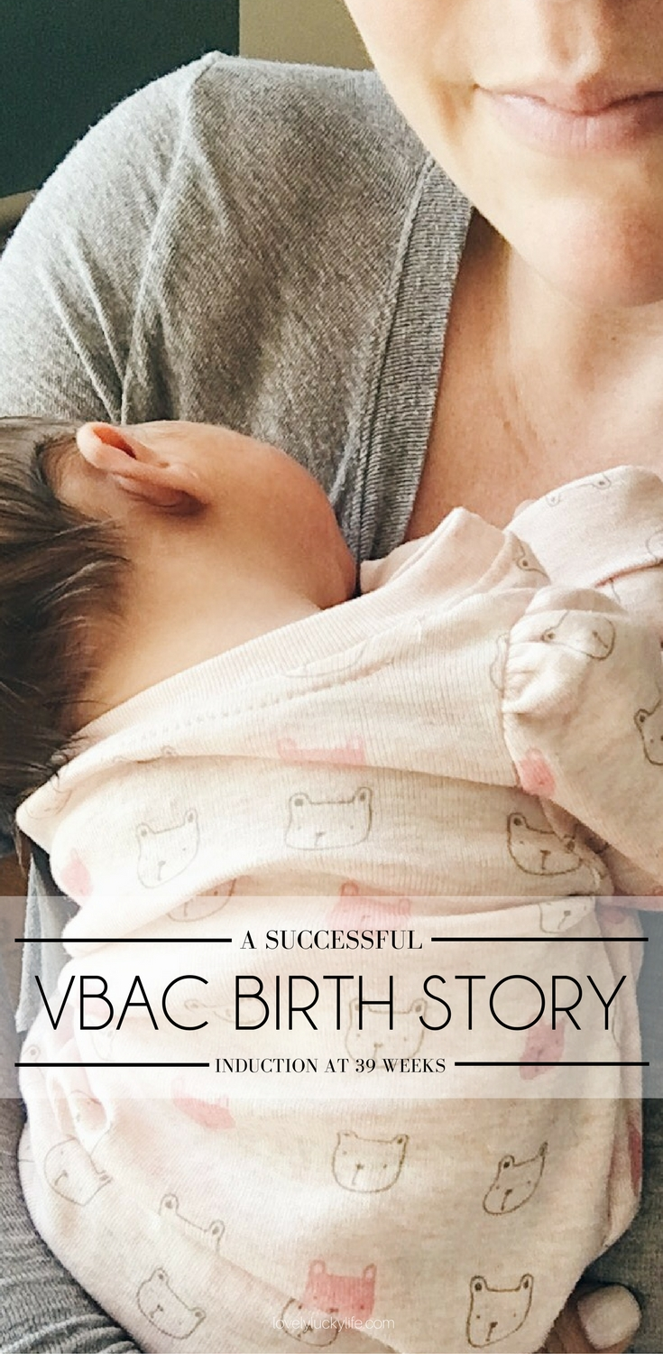 a successful induction VBAC birth story