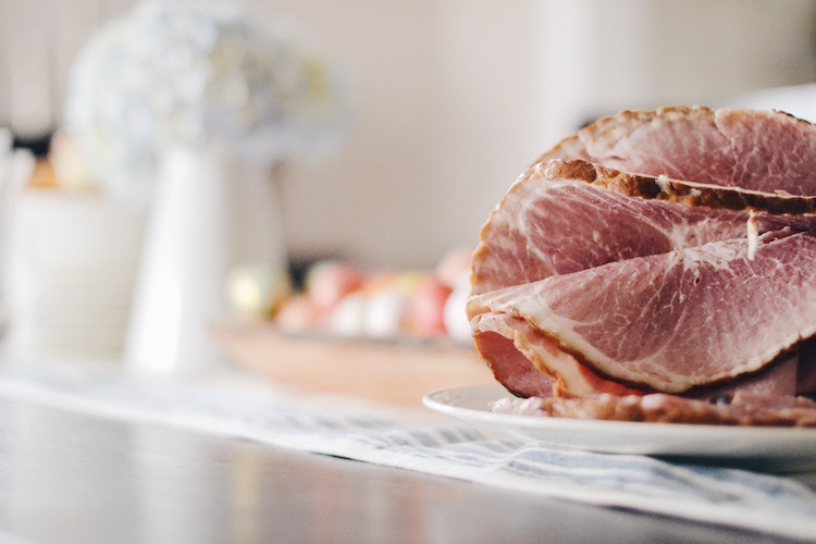 the best Easter ham - such an easy Easter meal - a Curemaster ham + glaze