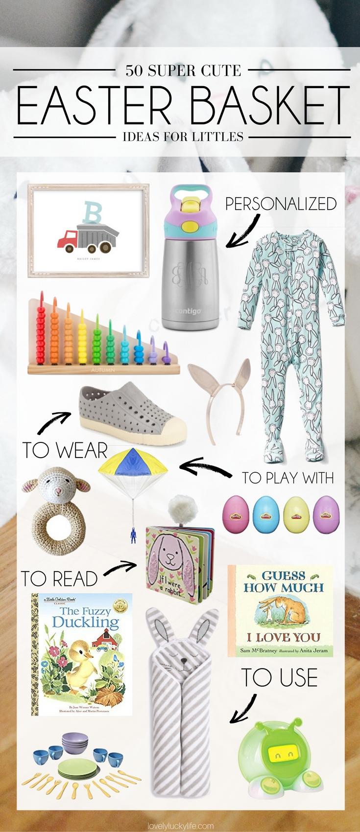 50 really cute easter basket ideas lovely lucky life