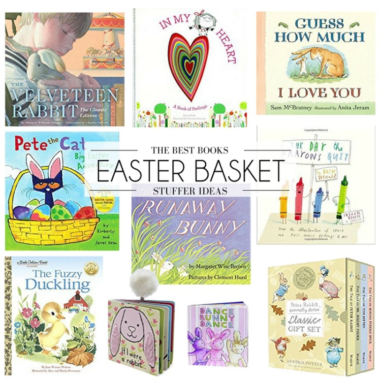 Easter Basket ideas - the best books for Easter baskets