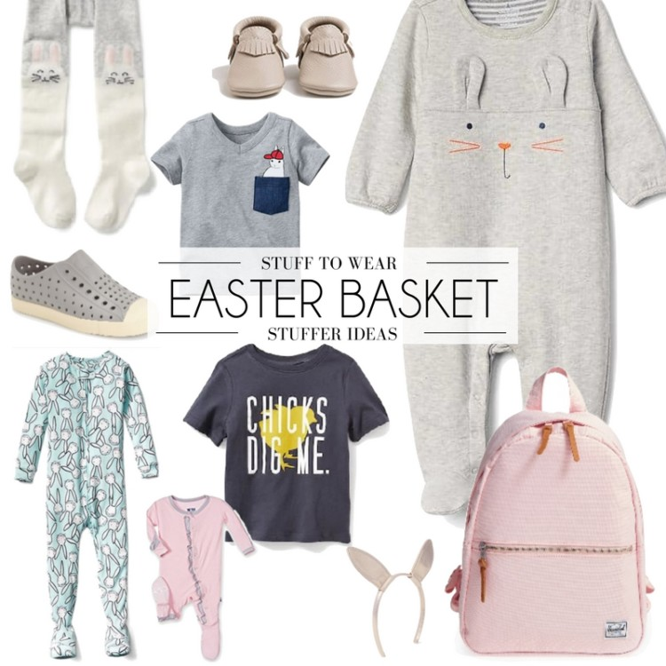 Easter basket ideas - the cutest clothes to put in your kid's Easter basket