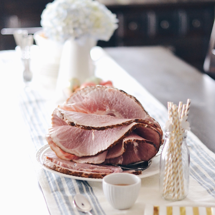Easter Brunch Two Ways – The Best Ham Ever + Ham Bone Soup