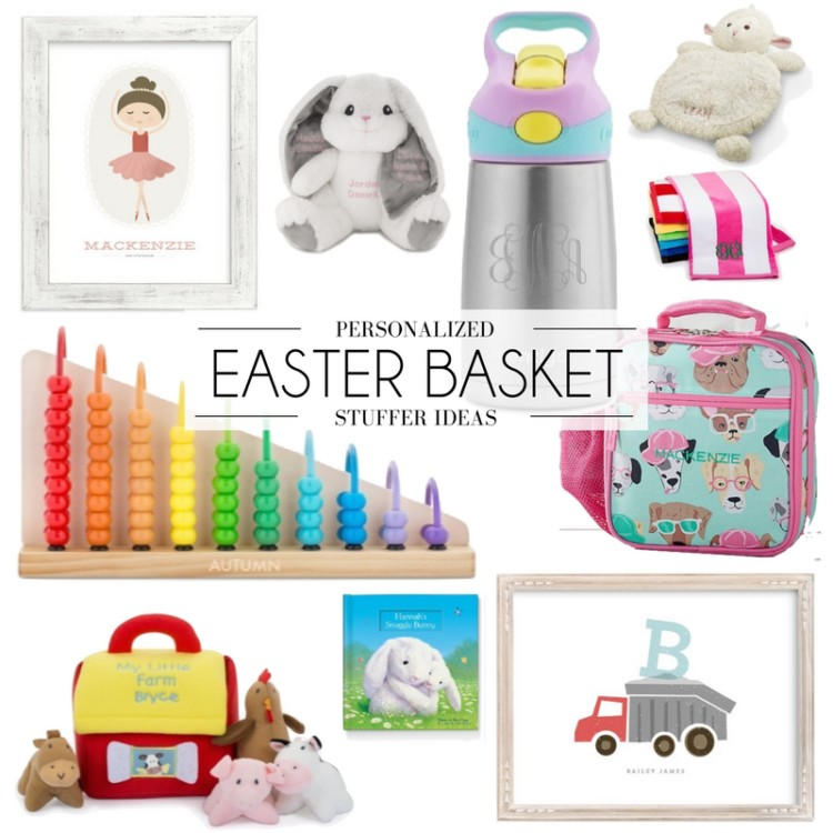 the best personalized gift for your kid's Easter basket
