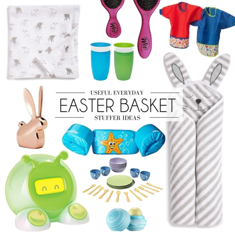 stuff to fill your Easter baskets with that your kids will actually use