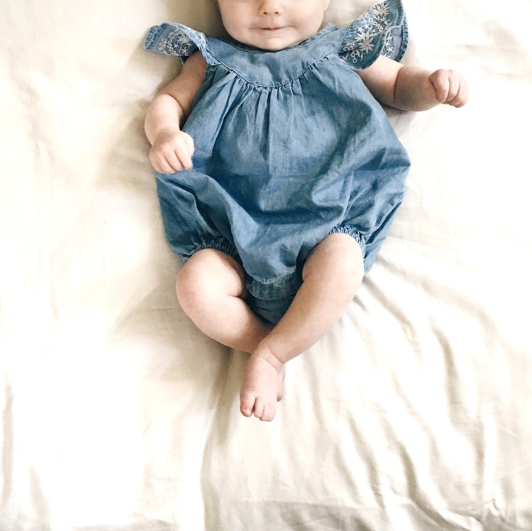 The Cutest Summer Rompers for Baby Girls