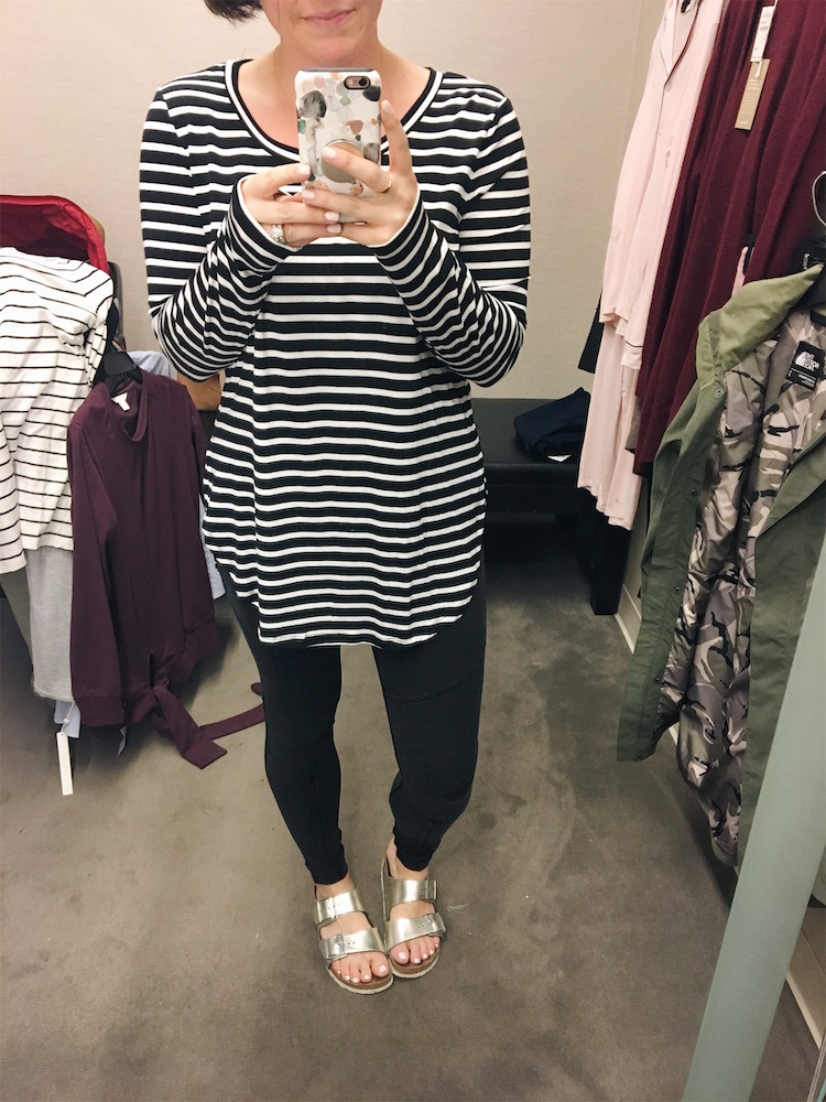 long sleeve knit tunic // Nordstrom Anniversary Sale Dressing Room Diaries