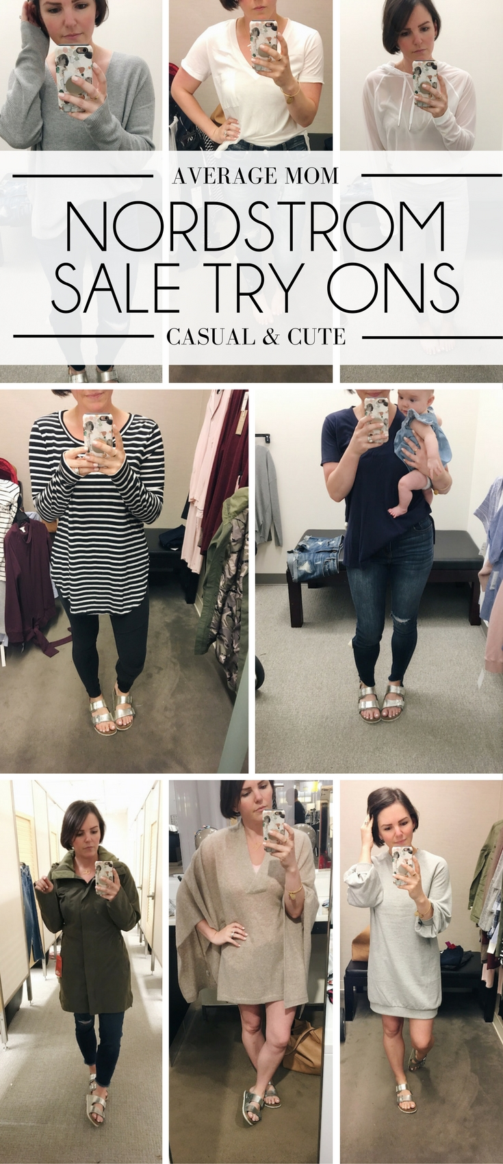 Nordstrom Anniversary Sale Dressing Room Diaries from a mom of three kids - casual, affordable style for the everyday mom