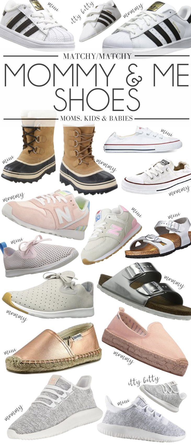 1ec0d2baf52253 the cutest mommy and me shoes - great shoes for moms and their little minis