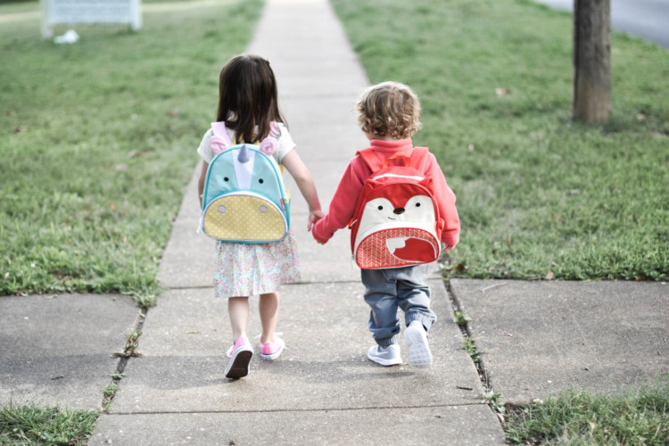 the cutest back-to-school outfits for preschoolers + 5 things your kids need to know for preschool