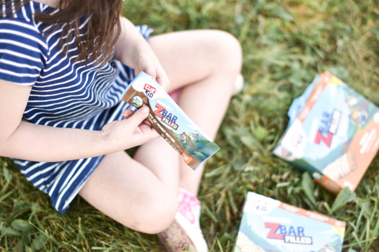 CLIF bars - the perfect snack for preschoolers.