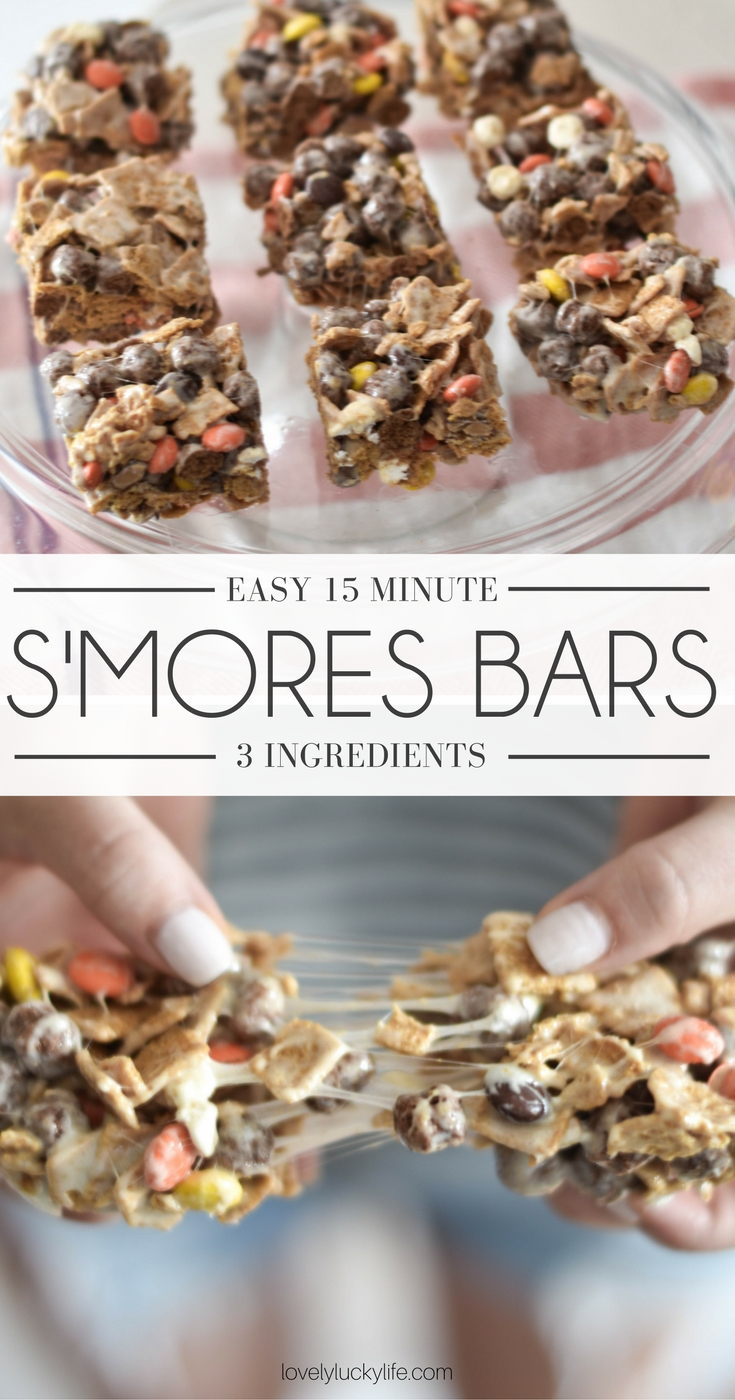 these s'mores are so easy and perfect for a fall treat!